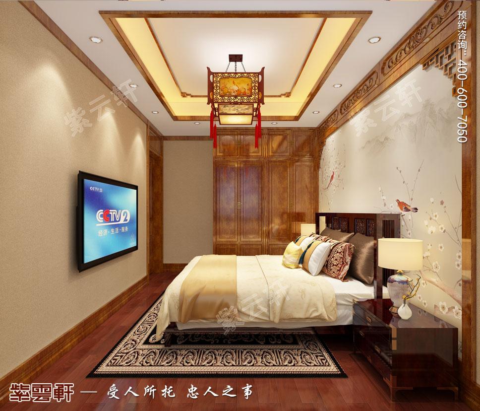 卧室中式设计装修
