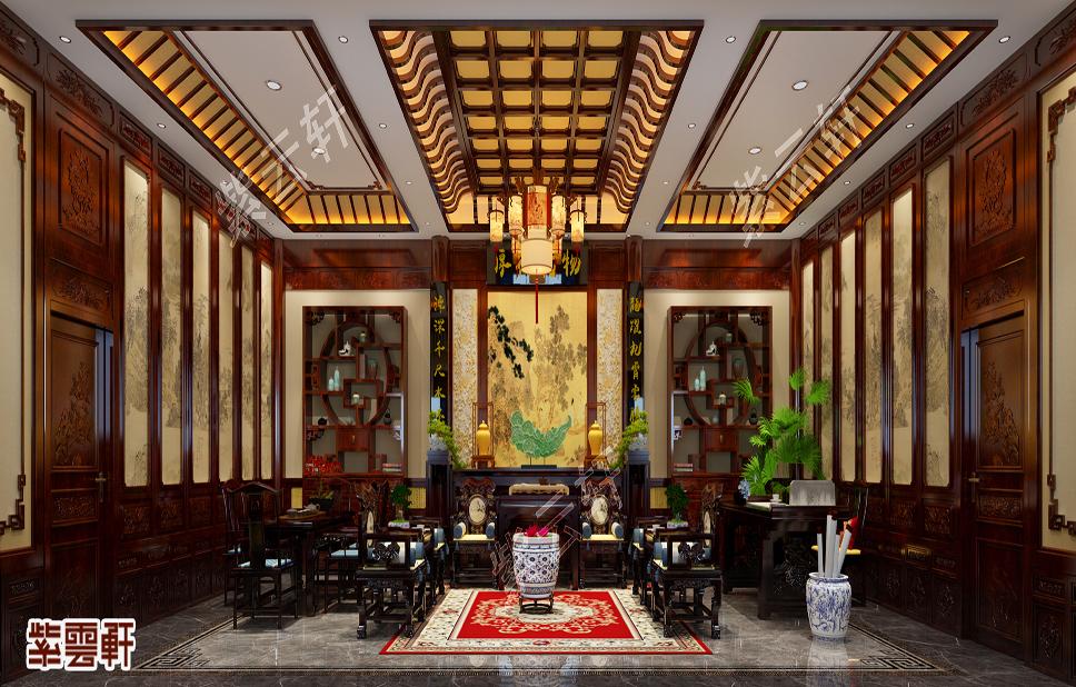 这古雅精致的中式自建房装修,藏尽了世间繁华