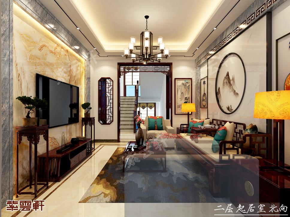 350平中式装修典雅小别墅,太惊艳!