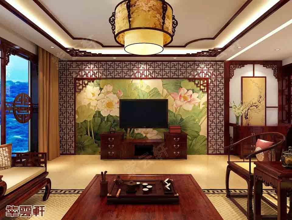 清丽之美、和润之雅——天津大平层中式装修