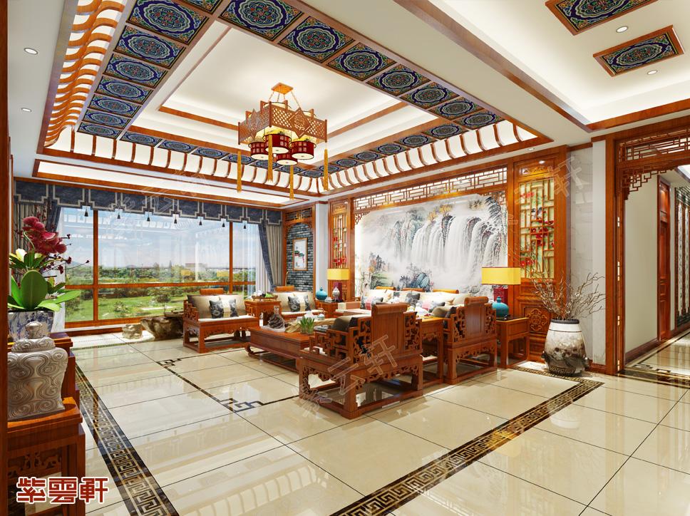300平米中式别墅——将古风幽雅的中式气质融入生活中