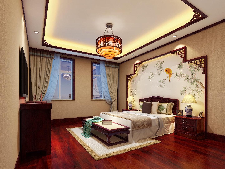 黄山市别墅中式装修,重现经典东方古韵