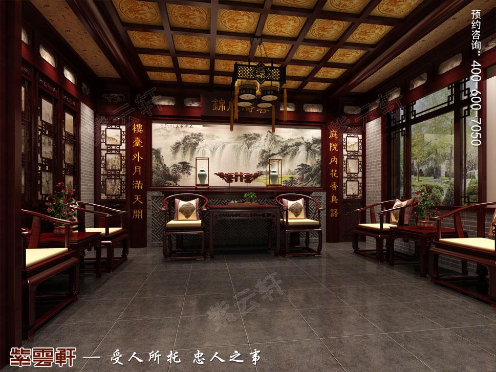 来自燕赵大地上的中式别墅原来是这样的,速戳!