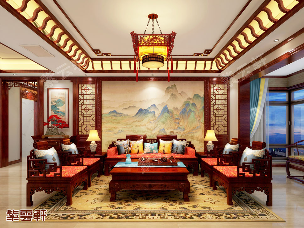 看到就会爱上的中式装修客厅
