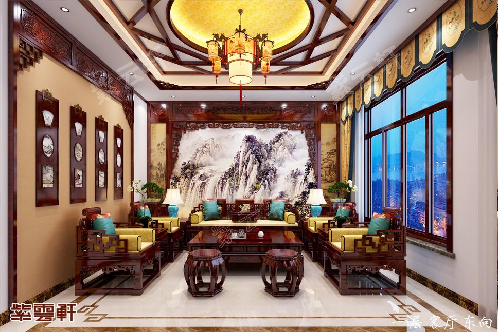 嘉兴别墅中式装修,古典之美让你无法拒绝