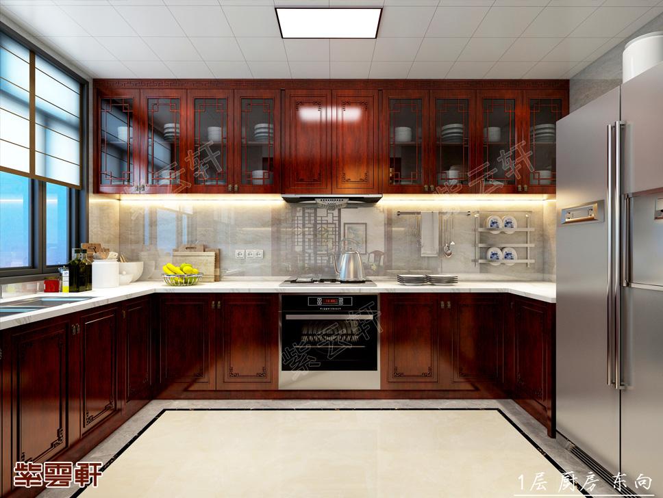 厨房中式装修设计