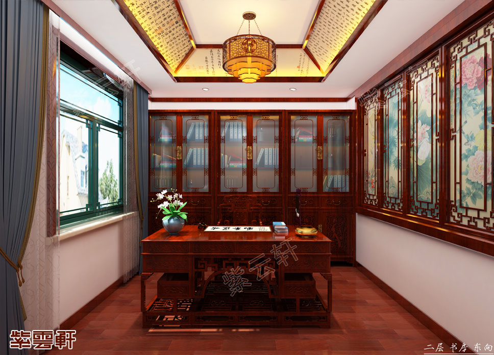 中式书房图片