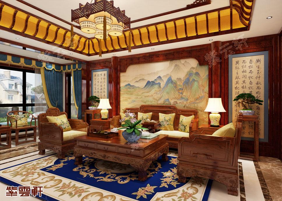 让人一见倾心的中式装修豪宅,传承百年不过时