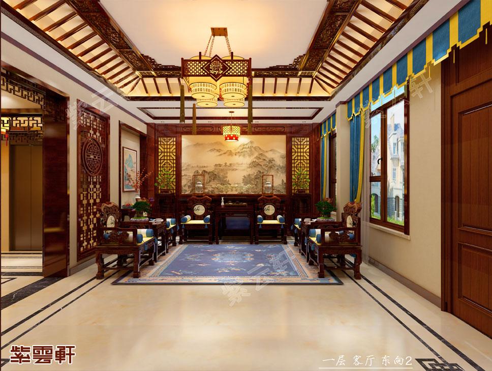 中式装修客厅