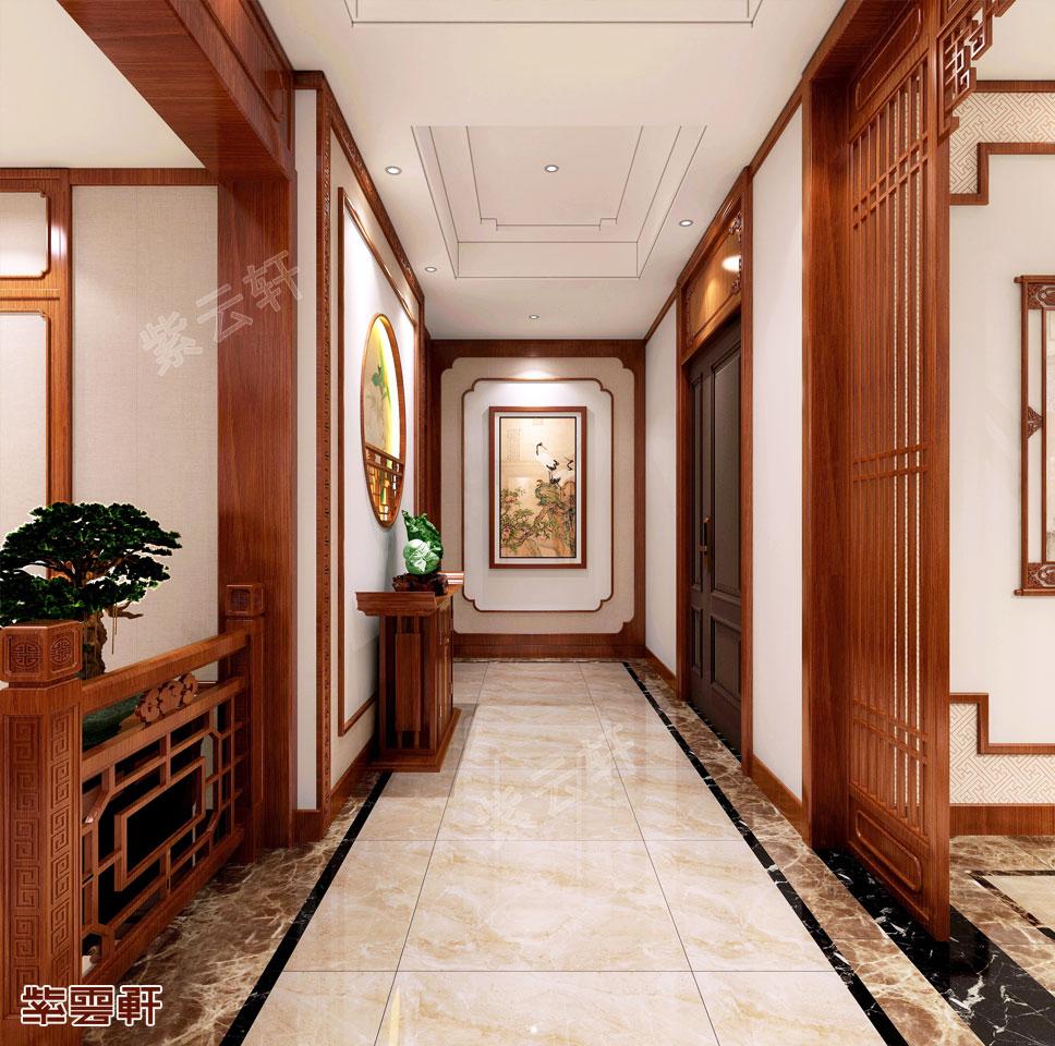 中式门厅图片