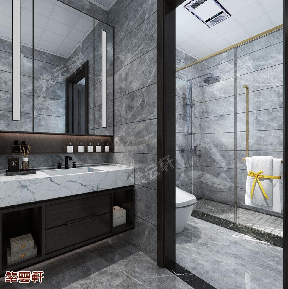卫生间中式装修效果图