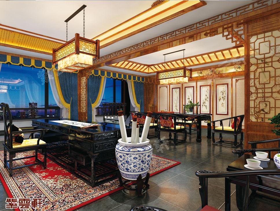 中式风格书房