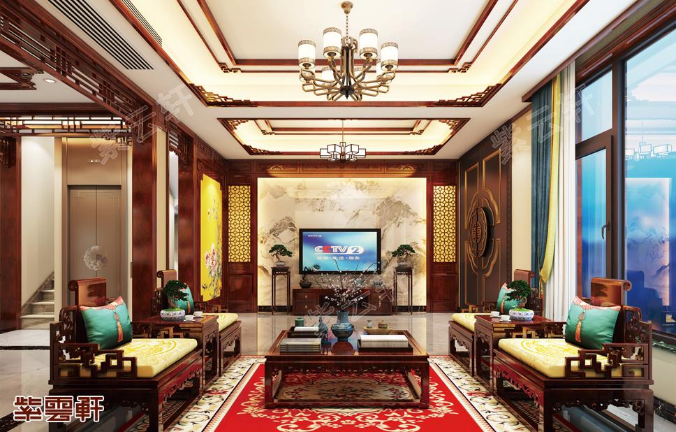中式装修就是上档次,绍兴中式豪宅一览