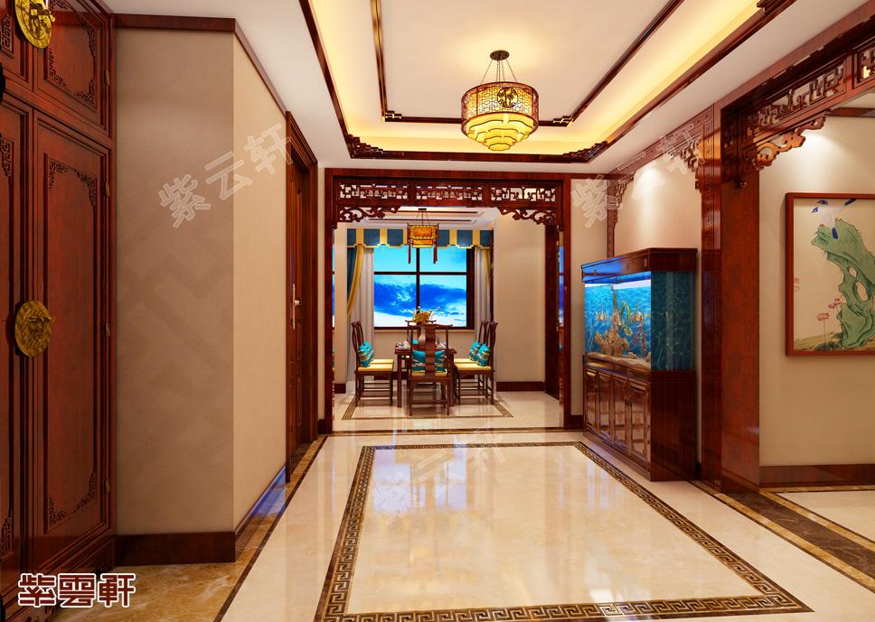 看不尽的风情,中式装修豪宅