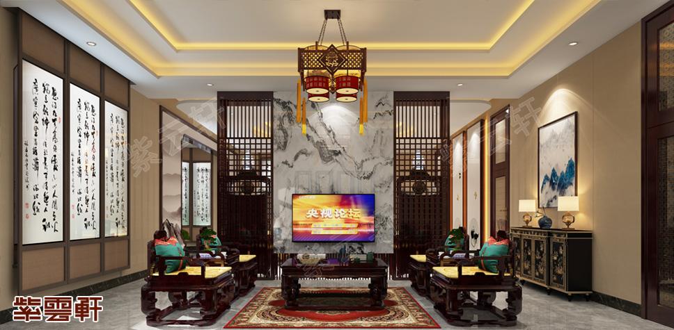 宴会厅中式设计