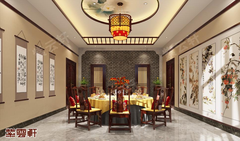 小餐厅中式设计