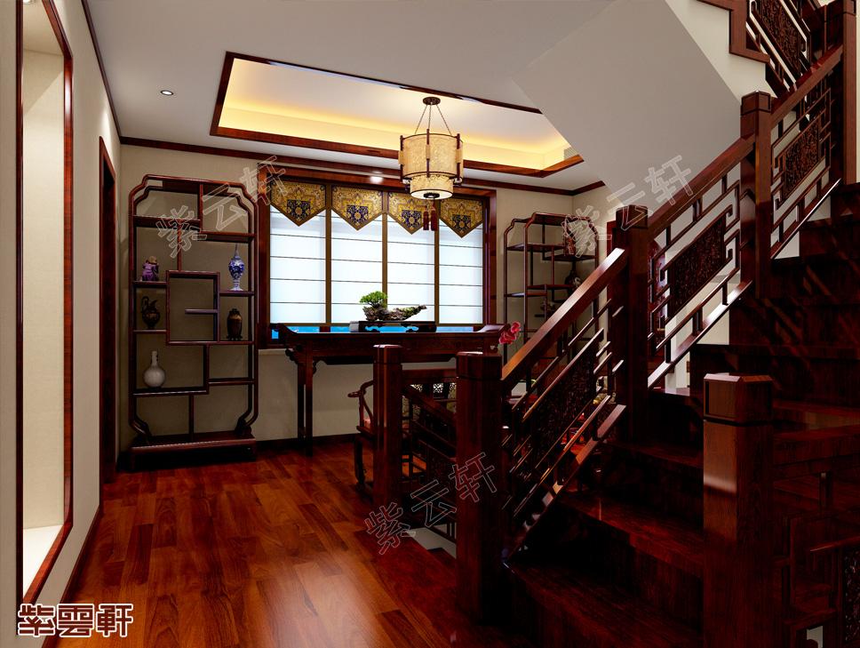 楼梯间中式设计