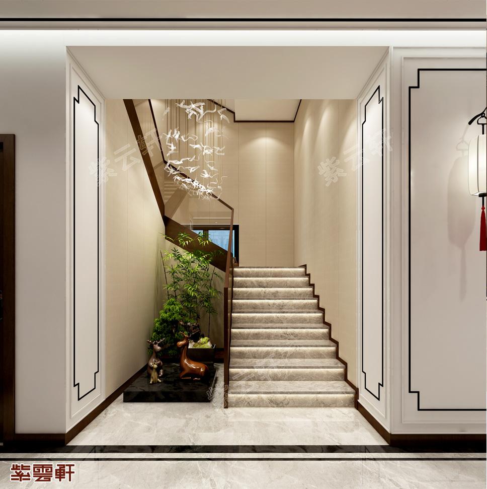 别墅装修楼梯间
