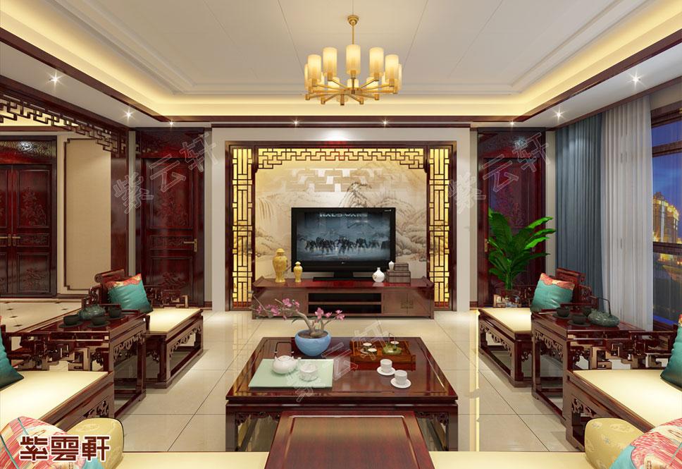 中式装修设计客厅