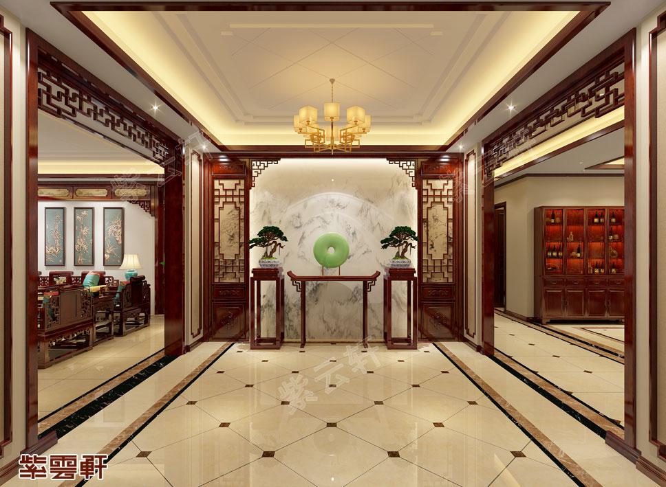 中式装修设计玄关
