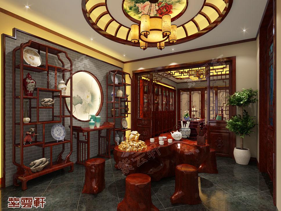 中式装修设计茶室