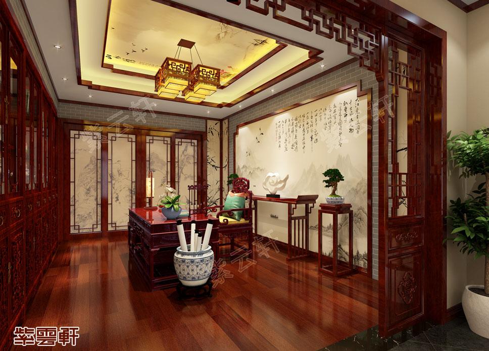 中式装修设计书房