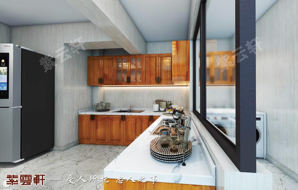 中式装修风格厨房