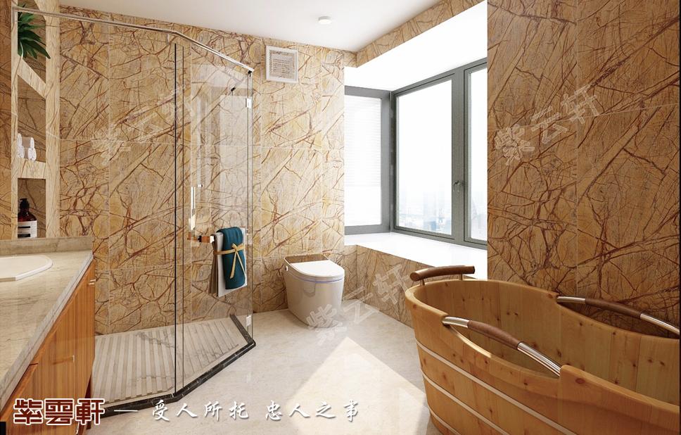 中式装修风格卫生间