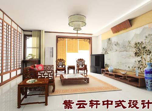 中式风格客厅:简约,大气,典雅