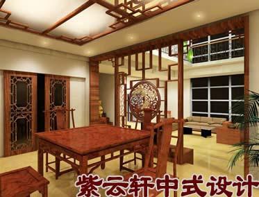 中式装修风格图片之餐厅中式设计