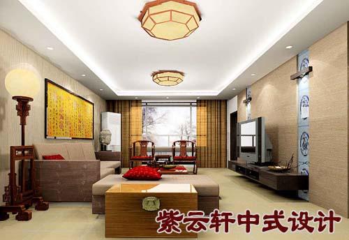 新中式装饰风格客厅-中式家装设计图片之中式客厅装饰图集图片