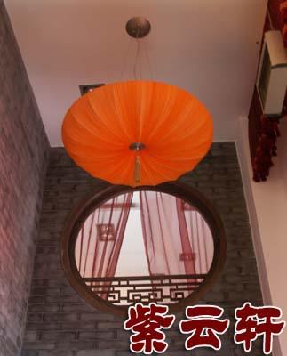 中式-餐厅-顶面