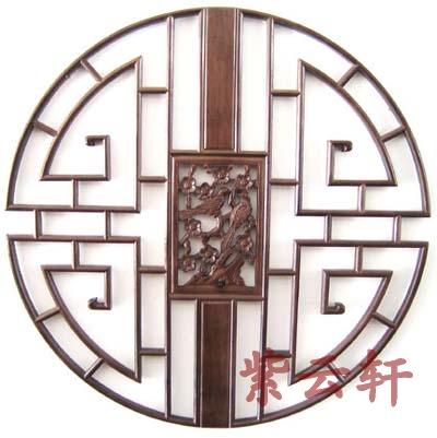 中式花窗展示专题-圆形,扇形花窗图片图片