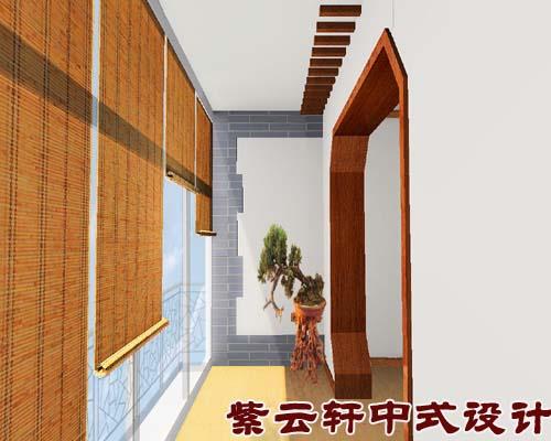 现代建筑与木雕花格,锦窗