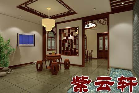 中式古典客厅-韵味,典雅,意境