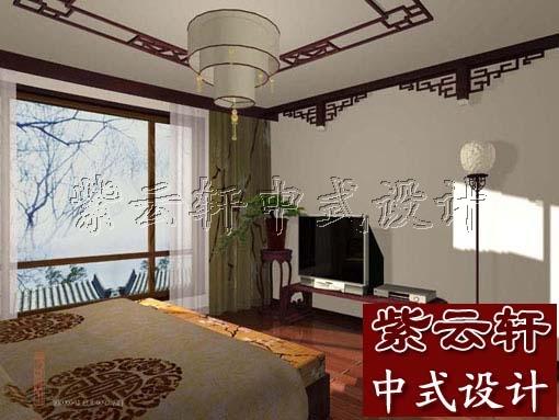 中式古典风格卧室