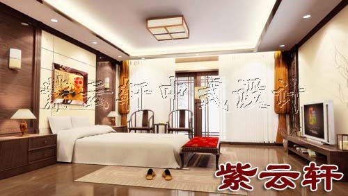 新中式古典装修风格卧室