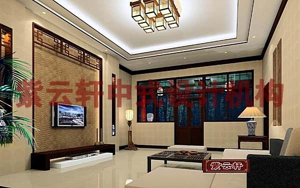 四合院装修-北京四合院中式设计