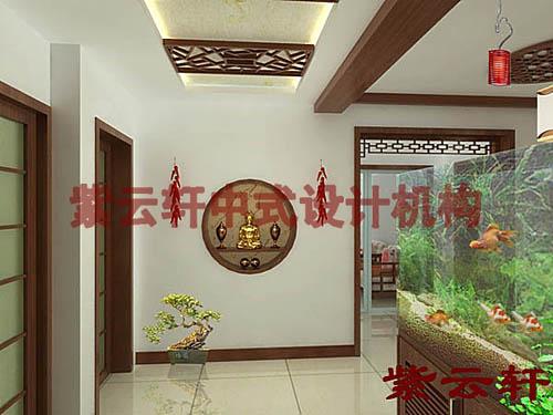 新古典简约中式设计风格-玄关