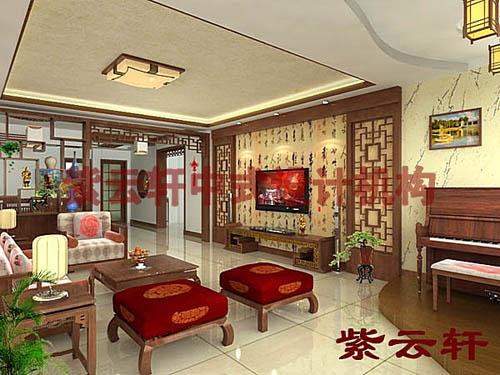 新古典简约中式设计风格-客厅
