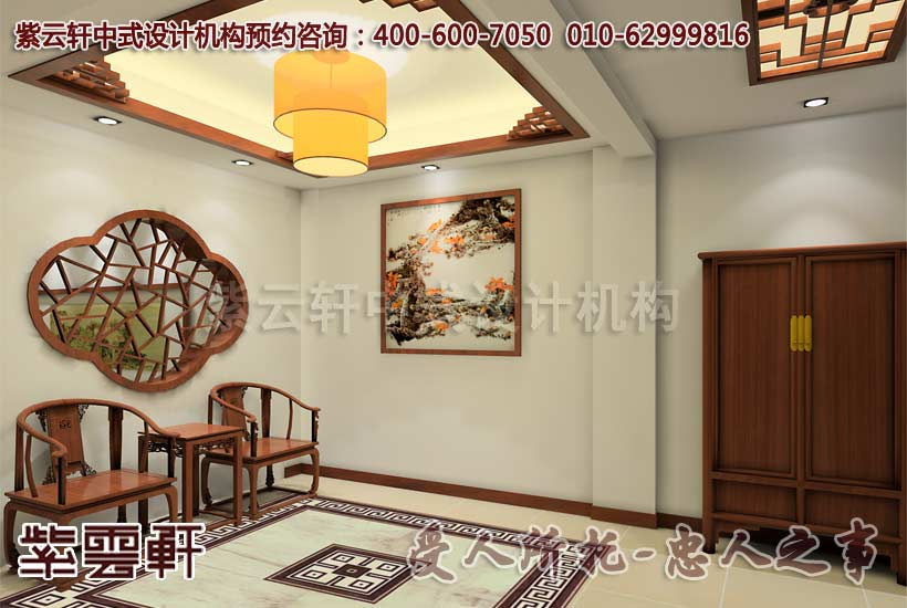 古典风格江南印象概念中式设计-玄关