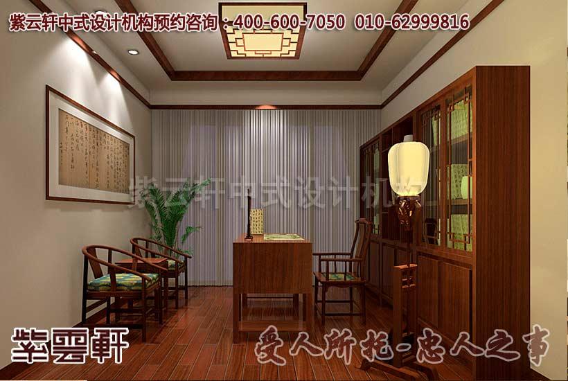 古典风格江南印象概念中式设计-书房