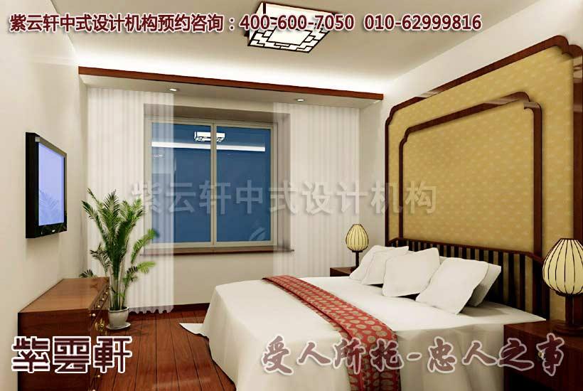 古典风格江南印象概念中式设计-客卧