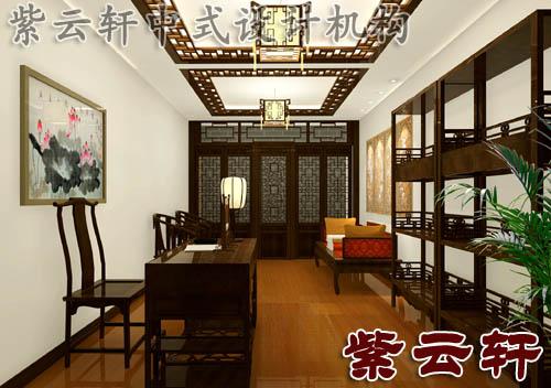简约中式设计风格 古典印象张宅中式装修案例