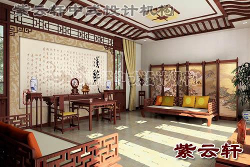 中式家庭装修以及中式装饰设计的内涵 广西壮族自治区桂林高清图片