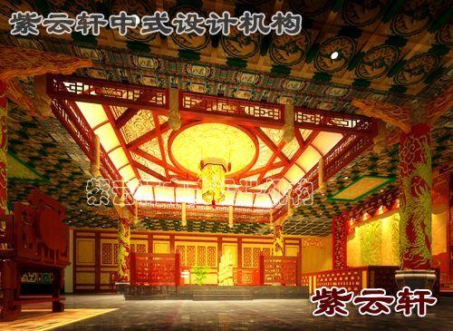 会所大堂-纯古典中式风格