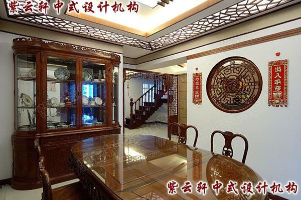 古典中式风格装修餐厅