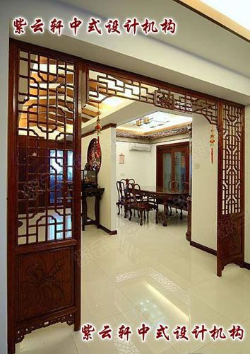 新古典中式装修风格设计的高贵色彩彰显-品位文化的
