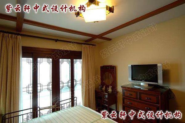 古典中式风格装修主卧室