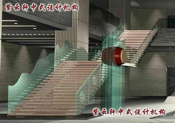 调控大厅设计中式设计效果图